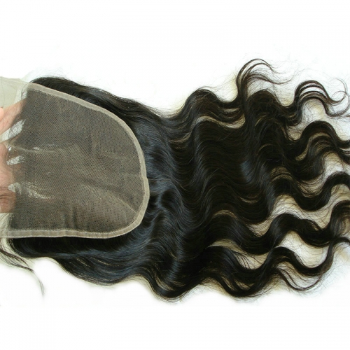 Body Wave 6x6 Lace Clousre Pre Plucked Natural Hairline Virgin Human Hair Closure