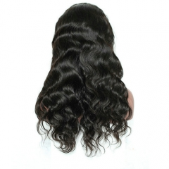 Hot Sale 300% High Density Lace Front Wig Body Wave Virgin Hair Lace Wig Pre Plucked Hairline With Baby Hair