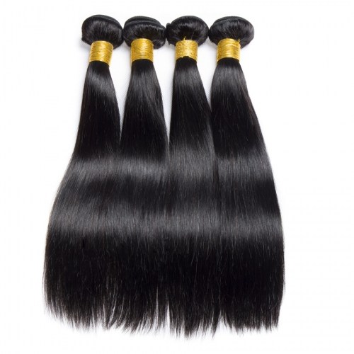 Silk Straigth Hair Bundles Brazilian Virgin Human Hair 3PCS Lot Straight Hair Weft Extensions