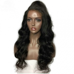 Body Wave 13x6 Lace Front Wig Virgin Hair Pre Plucked Human Hair Lace Wig With Baby Hair