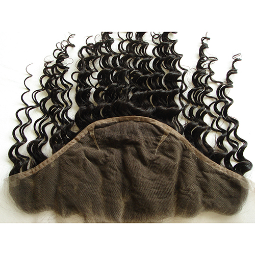 Deep Curly 13x6 Full Lace Frontal With Baby Hair Ear To Ear Curly Lace Frontal