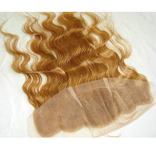 Honey Blonde Lace Frontal Closure Virgin Hair Ear To Ear Full Lace Frontal Hair