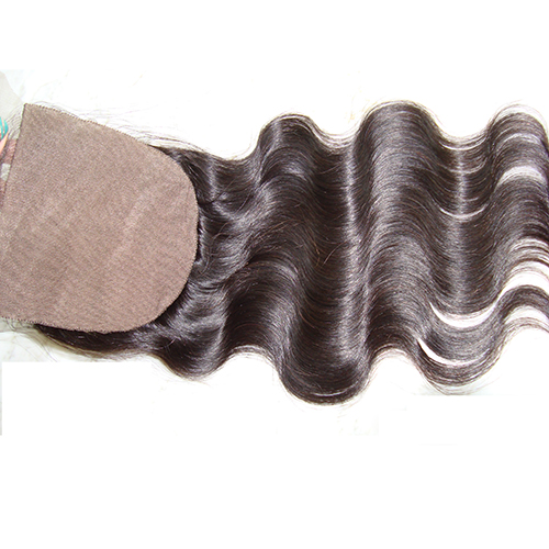 Body Wave 5x5 Silk Closure Virgin Human Hair Closure Piece