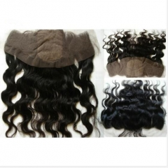 Cheapest Body Wave Silk Frontal Closure Virgin Hair Free Part Lace Frontal With Baby Hair 13x4 Silk Lace Frontal Closure