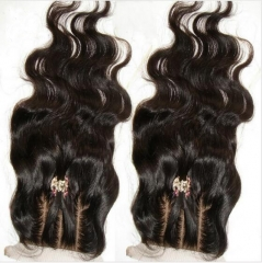 Body Wave 3.5x4 Silk Closure Virgin Hair Wavy Silk Lace Closure
