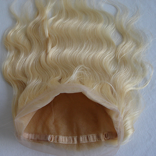 Blonde 360 Lace Frontal Pre Plucked Body Wave 613 360 Lace Band Frontal Closure With Baby Hair