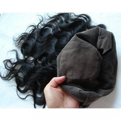 Body Wave 360 Silk Lace Frontal Closure Pre Plucked 360 Lace Frontal With Baby Hair
