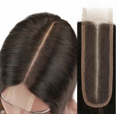 New Arrival 2x6 Lace Closure Virgin Human Hair Closure Piece Deep Parting Lace Closure