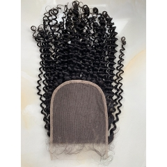 Kinky Curly Lace Closure Virgin Human Hair 6x6 Lace Closure