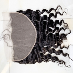 Transparent Lace Frontal Closure 13x6 Lace Frontal With Baby Hair Loose Wave Hair Frontal
