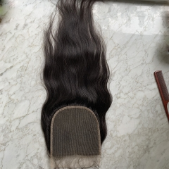 Transaprent Lace Closure 6x6 Straight Hair Closure Peruvian Virgin Hair Closure Transparent Lace