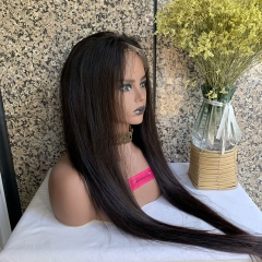 13X6 HD Lace Frontal Wig Virgin Human Hair HD Lace Wig Straight Hair Wigs