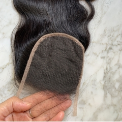 HD Lace Closure 4x4 Body Wave HD Lace Closure Pre Plucked Hairline Virgin Human Hair Closure