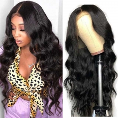 HD Lace Wig 6x6 Closure Wig Virgin Human Hair Body Wave Lace Front Wig Pre Plucked HD Lace